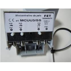 MINICENTRALINO MCUU3/SS Prezzo: € 26,20 (incluso 22 % I.V.A.)